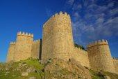 Old stone fortress avila — Stock Photo