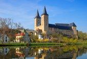 Old rochlitz castle — Stock Photo
