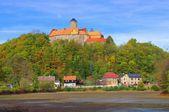 Old schoenfels castle — Stock Photo