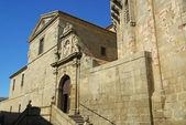 Stone Avila cathedral — Stock Photo