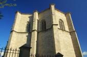Sten Avila katedralen — Stockfoto