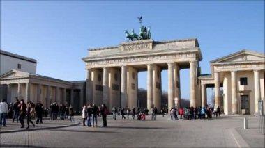 Berlin Brandenburg Gate — Stock Video