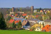 Kohren-Sahlis castle — Stock Photo