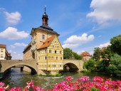 Bamberg townhall — Stock Photo