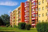Grossraeschen Wohnblocks — Stockfoto