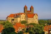 Quedlinburg church in Germany — Stock Photo