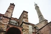 Istanbul, Turkey - November 22: A view of Architecture museum complex of Hagia Sophia in Istambul, Turkey — Stock Photo