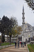 Istanbul, Turkey - November 22, 2014: The Sultan Ahmed Mosque (popularly known as the Blue Mosque) — Stock Photo