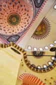 Istanbul, Turkey - November 23, 2014: Interior of the Suleymaniye Mosque — Stock Photo