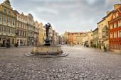 Market square, Poznan — Стоковое фото