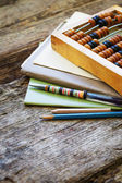 """Old tools for """"Back to school"""" — Stock Photo"""