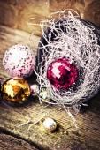 Vánoční ozdoba pozadí — Stock fotografie