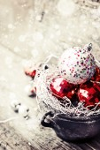 Christmas Ornament Background — Stockfoto