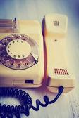 Vintage Telephone close-up — Stock Photo