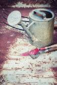 Vintage Gardening tools — Stock Photo