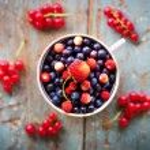 Tasty summer berries — Stock Photo #57766859