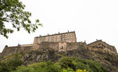 Edinburgh Castle on Castle Rock — Stock fotografie