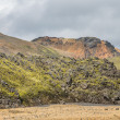 Landmannalaugar unbelievable lava landscape, Iceland — Stock Photo #55192449