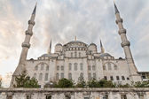 Blue mosque, rear view, Istanbul, Turkey — Stock Photo