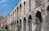 Valens Aqueduct in Istanbul, side view — Stock Photo