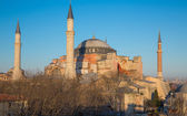 Hagia Sophia cathedral — Stock Photo