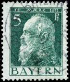 Bavaria Stamp — Stock Photo