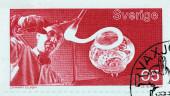 Glassmaker Stamp — Stock Photo