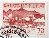 Greenland Post — Stock Photo