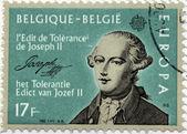 Joseph II Stamp — Stock Photo