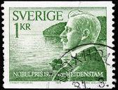 Von Heidenstam stamp — Stock Photo