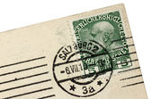 Salzburg Postmark — Stockfoto