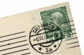 Salzburg Postmark — Fotografia Stock
