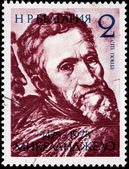 Michelangelo Stamp — Stock Photo
