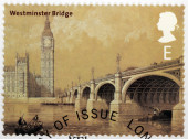 Westminster bridge — Stockfoto