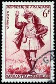Gargantua Stamp — Stock Photo