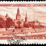 Riga Stamp — Stock Photo #59346907
