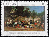 Lucas Padilla Stamp — Stock Photo