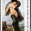 Постер, плакат: Bouguereau Stamp