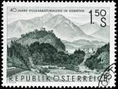 Carinthia Stamp — Stock Photo