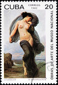 Bouguereau Stamp — Stock Photo