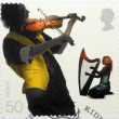 Fiddler and Harpist — Stock Photo #60652255