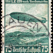 Zeppelin Stamp — Stock Photo #60801867