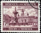 Budweis Stamp — Stock Photo