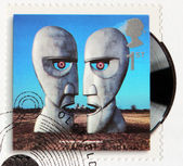 Pink Floyd Stamp — Stock Photo