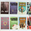 Постер, плакат: James Bond Books
