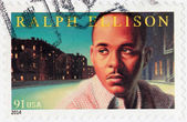 Ralph Ellison Stamp — Stock Photo