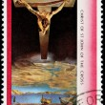Salvador Dali Stamp — Stock Photo #65249395