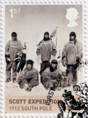 Scott Expedition 1912 — Stock Photo