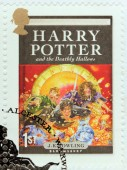 Harry Potter Stamp 7 — Stock Photo