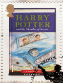 Harry Potter Stamp 2 — Stock Photo